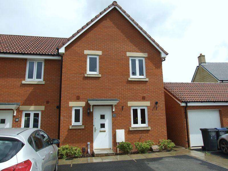 3 Bedrooms Terraced House for sale in Castlemead, Trowbridge