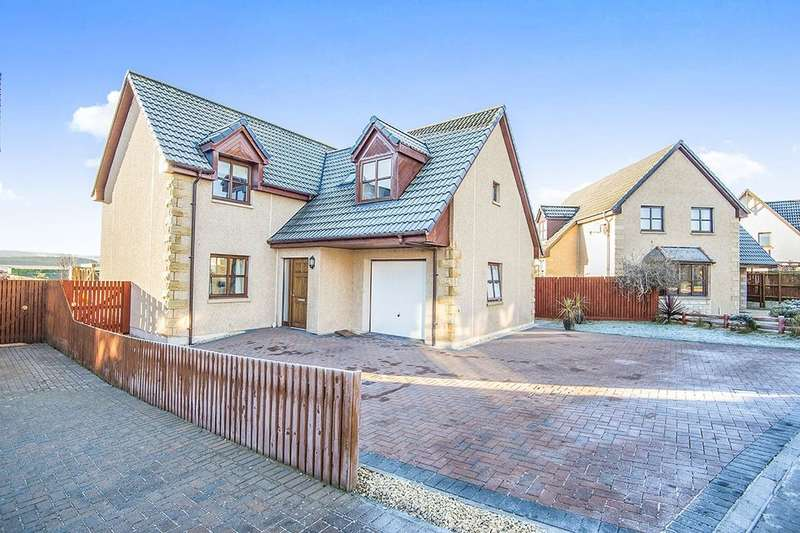 4 Bedrooms Detached House for sale in Leonach Crescent, Elgin, IV30