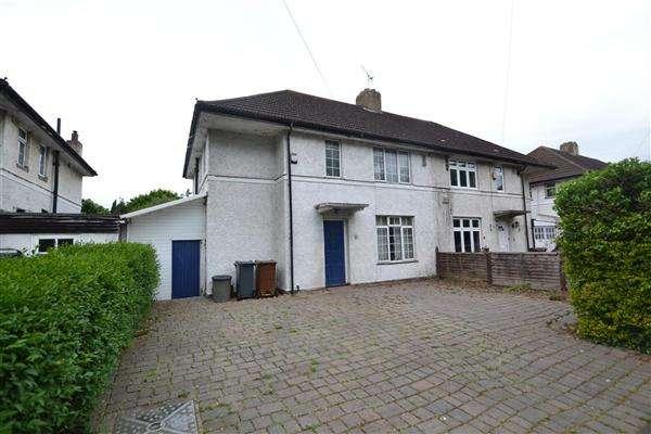 3 Bedrooms Semi Detached House for sale in Castle Way, Hanworth