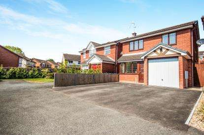 3 Bedrooms Detached House for sale in Curlew Close, Stratford-upon-Avon