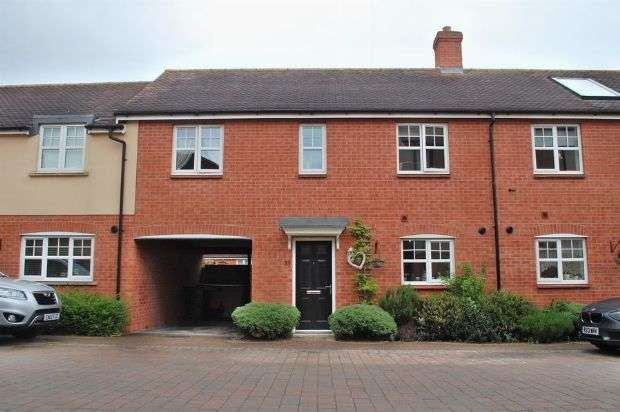 3 Bedrooms Terraced House for sale in Sam Harrison Way, Duston, Northampton NN5 6UL