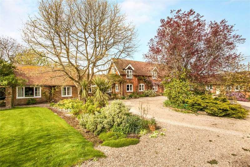 4 Bedrooms Detached House for sale in East Tytherley Road, Lockerley, Romsey, Hampshire, SO51