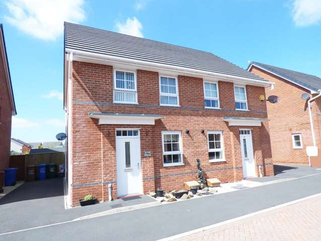 3 Bedrooms Semi Detached House for sale in Horseshoe Drive, Buckshaw Village, Chorley, PR7