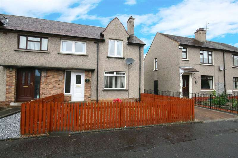 3 Bedrooms End Of Terrace House for sale in Tedder Street, Grangemouth