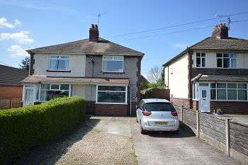 3 Bedrooms Semi Detached House for sale in Sandbach Road, Rode Heath ST7 3RN