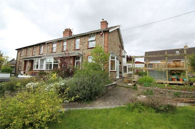 3 Bedrooms End Of Terrace House for sale in New Villas, Llanfoist, ABERGAVENNY, Monmouthshire
