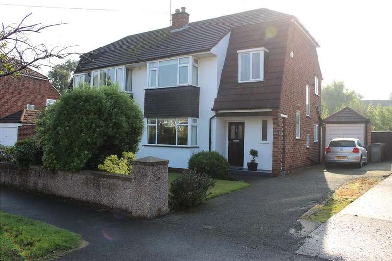 3 Bedrooms Semi Detached House for rent in Brooklet Road, Heswall, Wirral, Merseyside, CH60