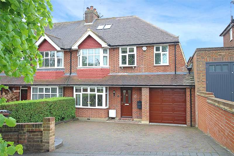 4 Bedrooms Semi Detached House for sale in Becketts Avenue, St. Albans, Hertfordshire, AL3