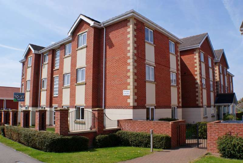 2 Bedrooms Apartment Flat for sale in Venables Court , Carlton Boulevard, Lincoln