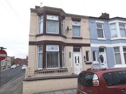 3 Bedrooms End Of Terrace House for sale in Haldane Road, Walton, Liverpool, Merseyside, L4