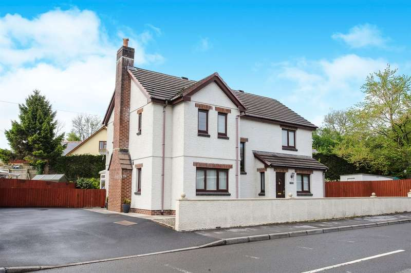 4 Bedrooms Detached House for sale in Llandeilo Road, Gorslas, Llanelli