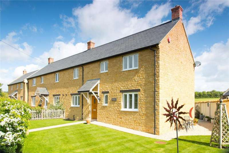 3 Bedrooms Semi Detached House for sale in Knott Oak, Townsend, Ilminster, Somerset