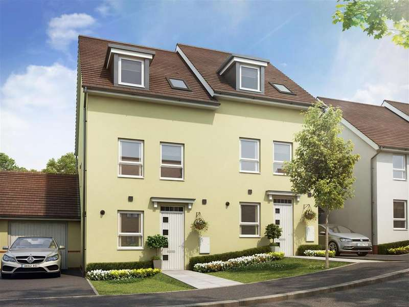 3 Bedrooms House for sale in Plot 225, Saxon Fields, Cullompton