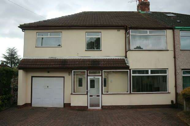 5 Bedrooms Semi Detached House for sale in Hunts Cross Avenue , Woolton , Liverpool