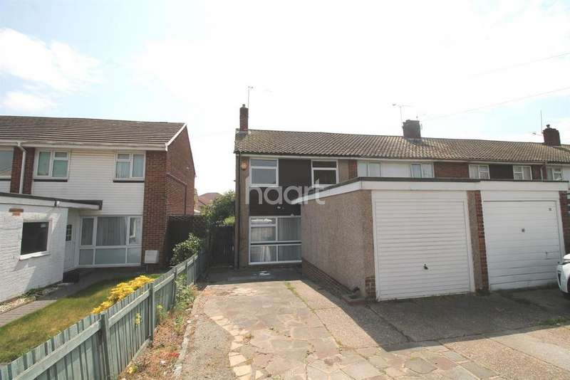 3 Bedrooms End Of Terrace House for sale in Hilden Drive, Erith, DA8