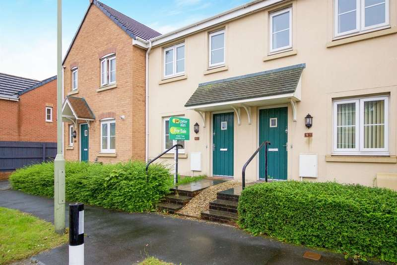 2 Bedrooms Terraced House for sale in Kingfisher Road, North Cornelly, Bridgend