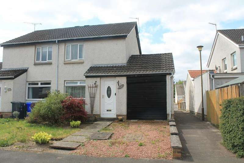 2 Bedrooms Semi Detached House for sale in Archers Avenue, Stirling, FK7 7RJ