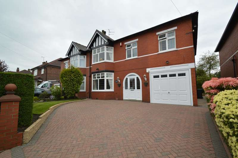4 Bedrooms Semi Detached House for sale in Dales Lane, Whitefield, Manchester, M45