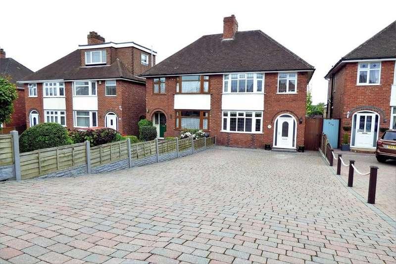 3 Bedrooms Semi Detached House for sale in Stanton Road, Burton-on-Trent