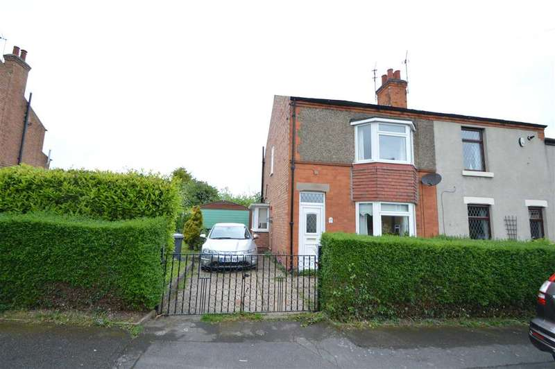 2 Bedrooms Semi Detached House for sale in Dale Road, Keyworth, Nottingham