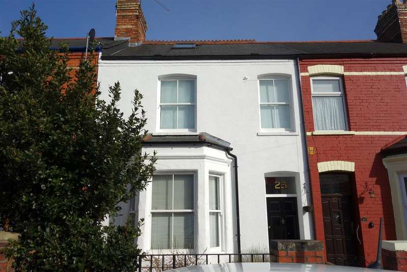 3 Bedrooms Terraced House for sale in Station Road, Penarth