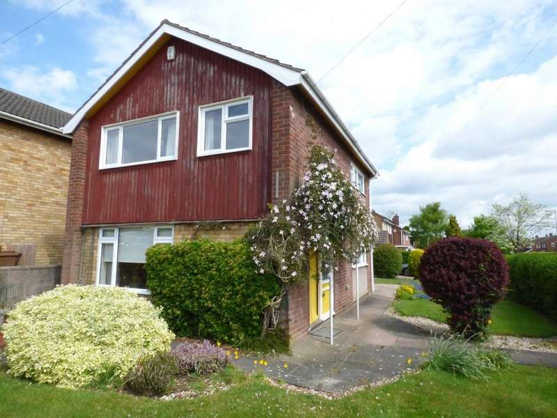 3 Bedrooms Detached House for sale in Yelverton Avenue, Stafford