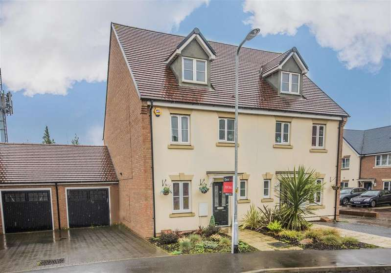 4 Bedrooms Semi Detached House for sale in Oak Grove, Northampton