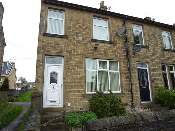 3 Bedrooms End Of Terrace House for sale in East Street, Golcar, Huddersfield