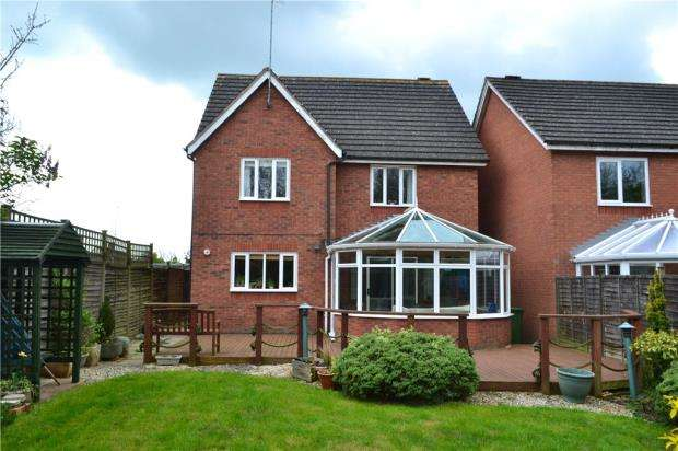 4 Bedrooms Detached House for sale in Little Pittern, Kineton, Warwick