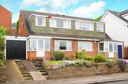3 Bedrooms Semi Detached House for sale in Handley Road, New Whittington, Chesterfield, Derbyshire