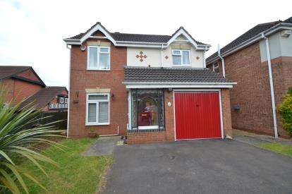 4 Bedrooms Detached House for sale in Stubbs Close, Wellingborough, Northamptonshire