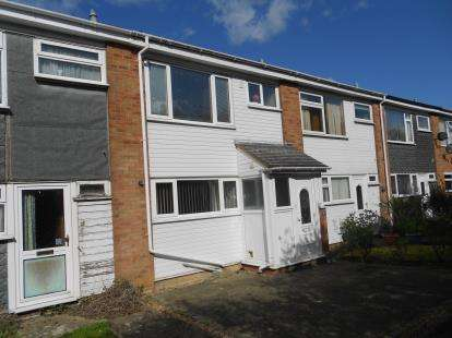 3 Bedrooms Terraced House for sale in Chapel Close, Great Barford, Bedford, Bedfordshire