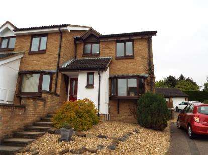 3 Bedrooms Semi Detached House for sale in Reeds Dale, Luton, Bedfordshire