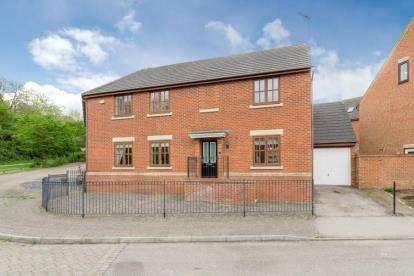 4 Bedrooms Semi Detached House for sale in Sorensen Court, Medbourne, Milton Keynes