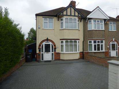 3 Bedrooms Semi Detached House for sale in Birchfield Road East, Northampton, Northamptonshire