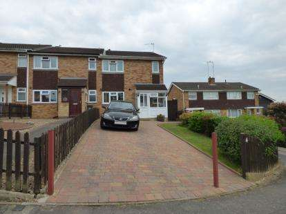 3 Bedrooms End Of Terrace House for sale in Shire Close, Western Park, Leicester, Leicestershire