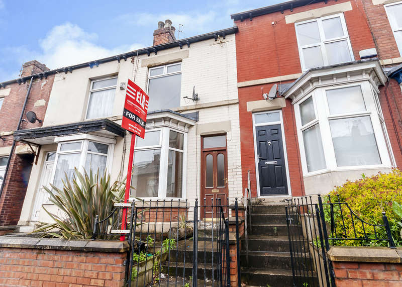 3 Bedrooms Terraced House for sale in 120 Vincent Road, Sharrow, S7 1BX
