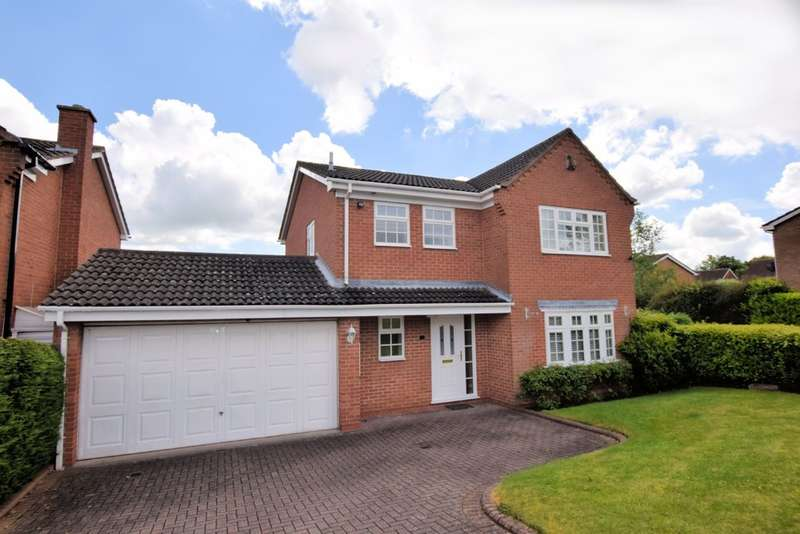 4 Bedrooms Detached House for sale in Wilberforce Way, Solihull