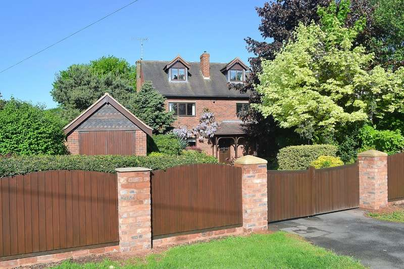 5 Bedrooms Detached House for sale in Fortescue Lane, Rugeley