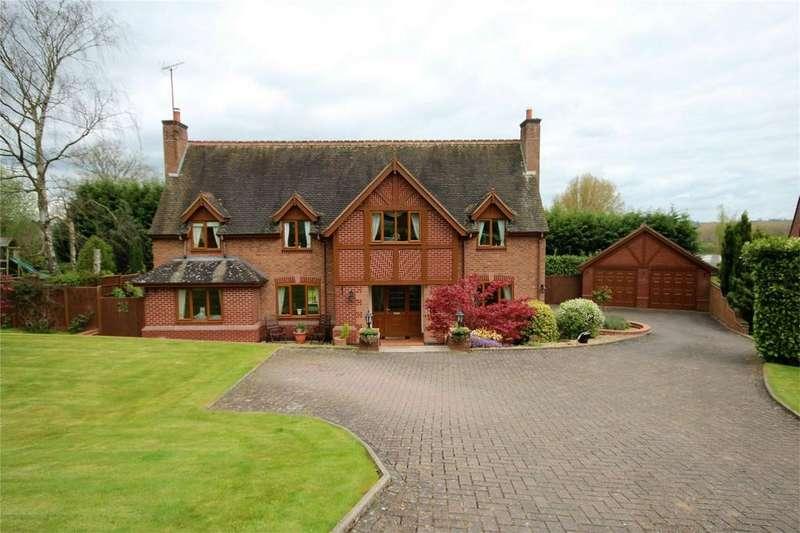 4 Bedrooms Detached House for sale in Doveleys Manor Park, Denstone, Staffordshire
