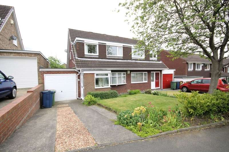 3 Bedrooms Semi Detached House for sale in Beaumont Drive, Washington, NE38