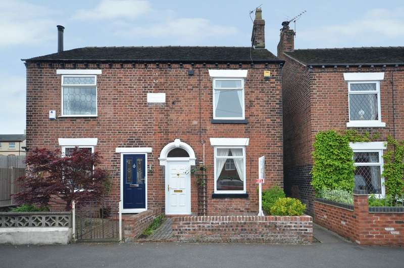 2 Bedrooms Semi Detached House for sale in Portland Drive, Scholar Green, ST7 3BT