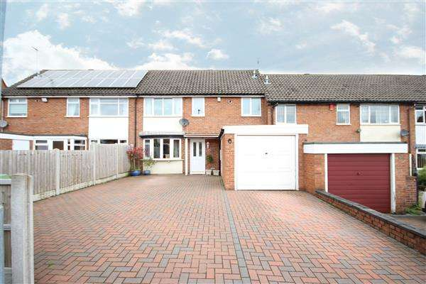 3 Bedrooms Town House for sale in Hilltop Crescent, Meir Heath, Stoke-on-Trent