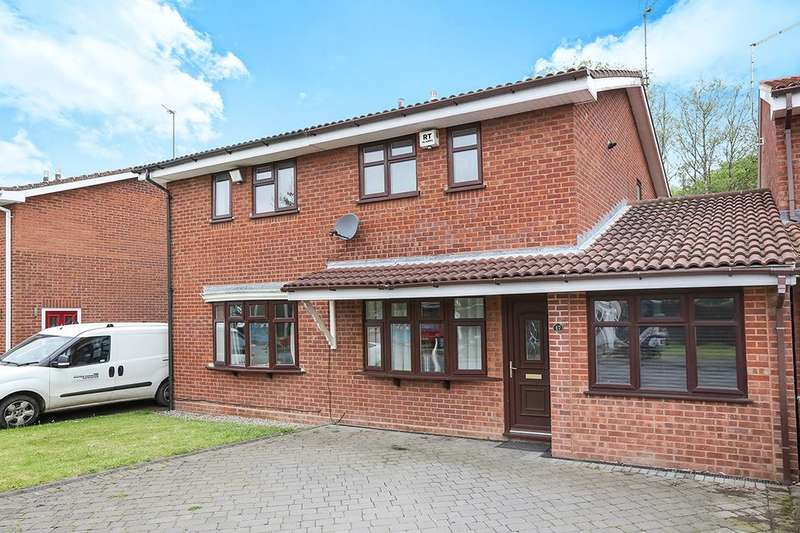 3 Bedrooms Semi Detached House for sale in Brunel Grove, Perton, Wolverhampton, WV6