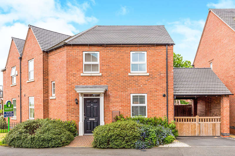 3 Bedrooms Semi Detached House for sale in Bexley Drive, Church Gresley, Swadlincote, DE11