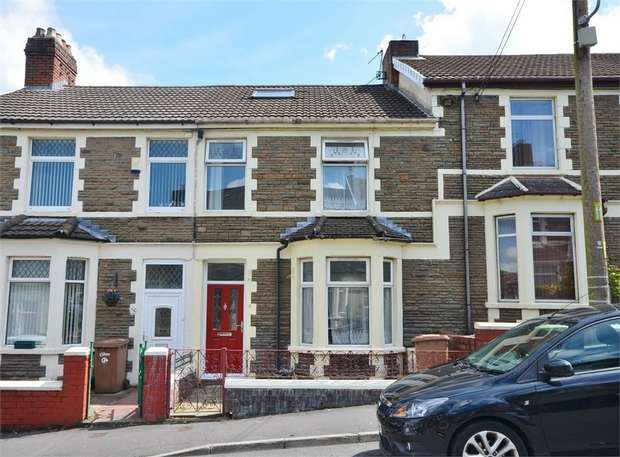 3 Bedrooms Terraced House for sale in Ludlow Street, Caerphilly, CAERPHILLY