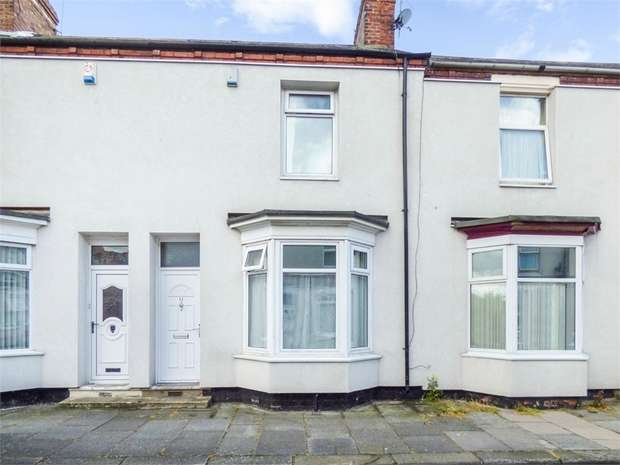 2 Bedrooms Terraced House for sale in Scarborough Street, Thornaby, Stockton-on-Tees, North Yorkshire
