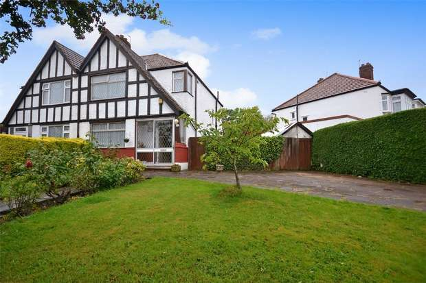3 Bedrooms Semi Detached House for sale in Oldborough Road, WEMBLEY, Middlesex