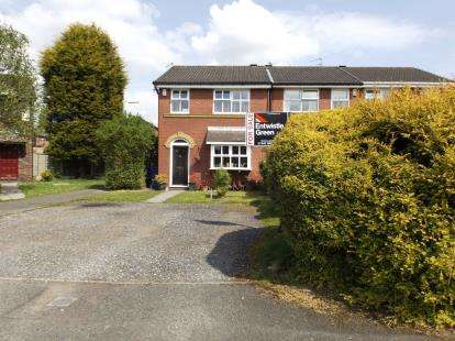 3 Bedrooms End Of Terrace House for sale in The Cloisters, Westhoughton, Bolton, Greater Manchester, BL5
