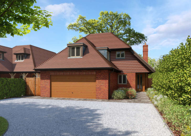 4 Bedrooms Detached House for sale in Denmead, Hampshire